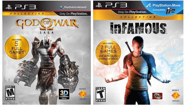 God of War and Infamous collections hits PS3 for $40 on