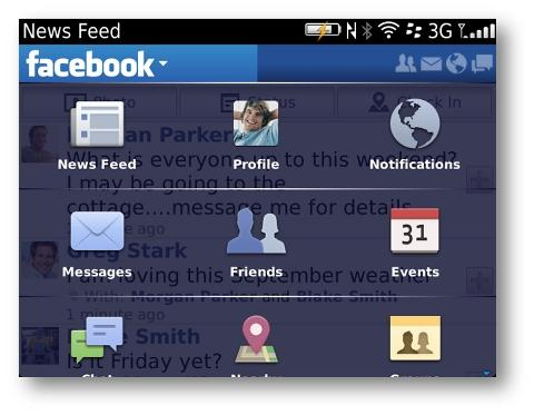 Facebook for BlackBerry 3 2 available for download now | Ubergizmo
