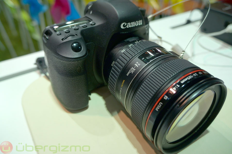 Canon EOS 6D Hands-On Review | Ubergizmo