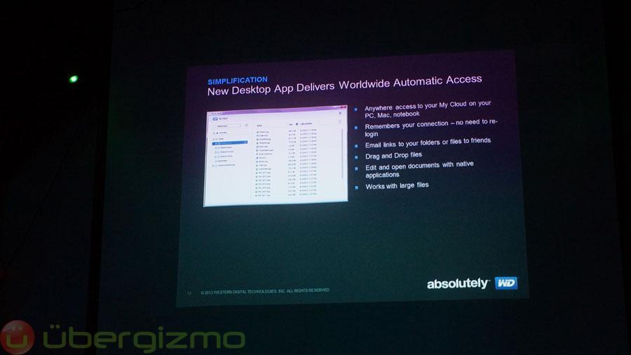 Western Digital's My Cloud Makes Network Storage Easy | Ubergizmo