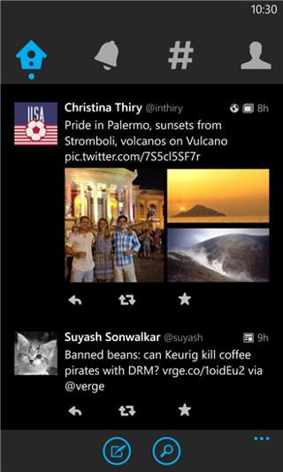 Twitter For Windows Phone 8 1 Updated   Ubergizmo
