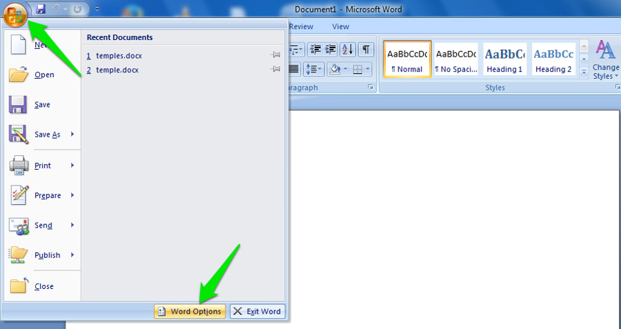 how to retrieve autosaved word documents 2007