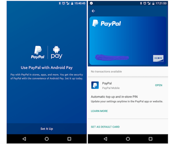 PayPal Android Pay Integration Live   Ubergizmo