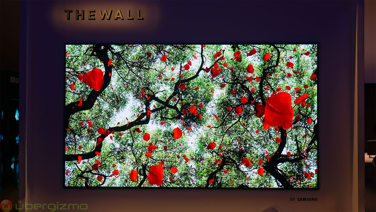 Samsung Unveils 'The Wall', A 146-inch Modular MicroLED TV