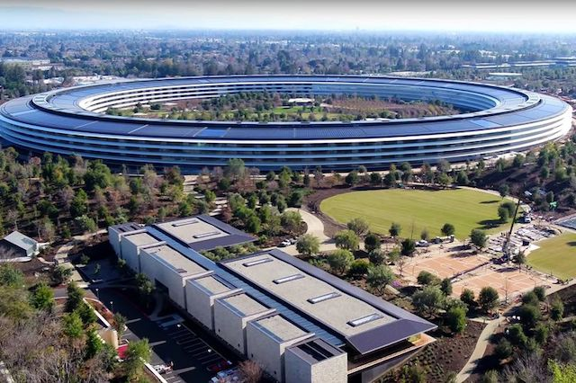 Apple's New HQ Has Beautiful Glass Panels That Employees