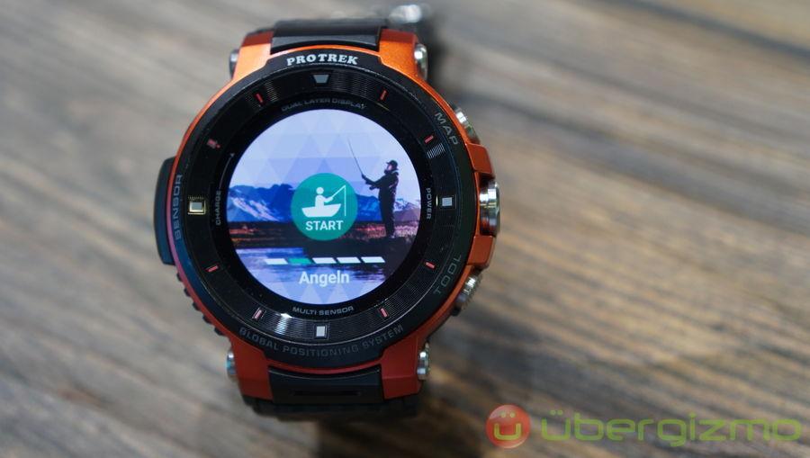 Casio Pro Trek Smart Wear OS Smartwatch Launched   Ubergizmo