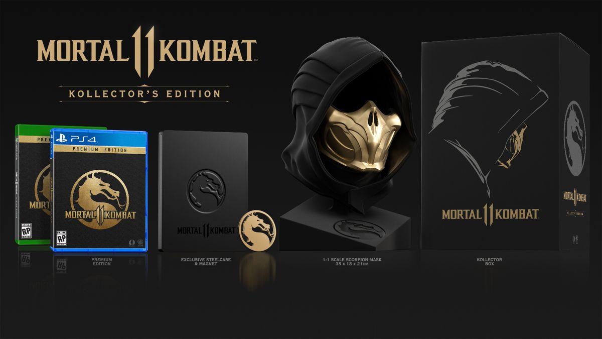 Mortal Kombat 11: Kollector's Edition Announced   Ubergizmo