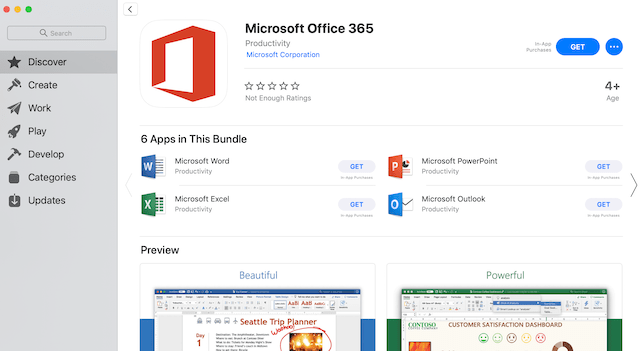 download ms excel for macbook