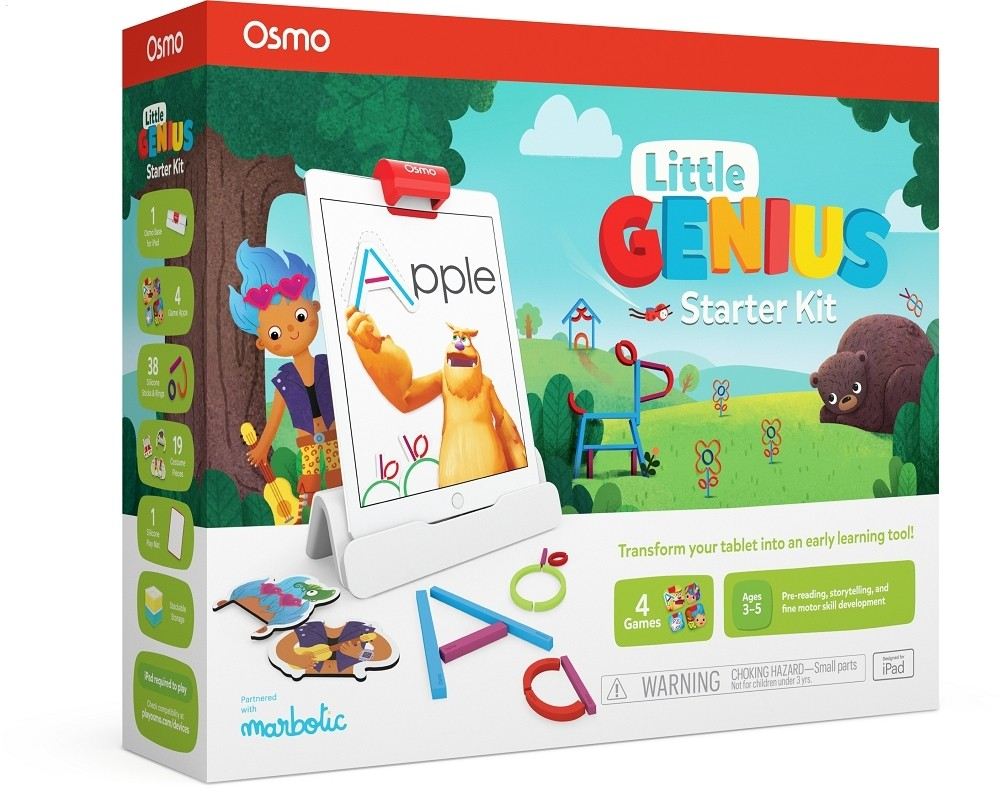 Osmo Launches A New iPad Learning Kit For Preschoolers