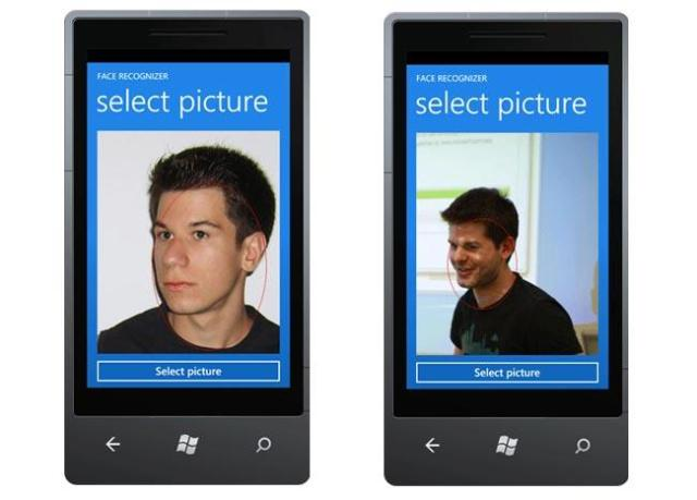 Windows Phone Face Recognition