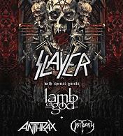 Slayer 2018 tour line up