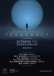 TesseracT UK Ire tour poster