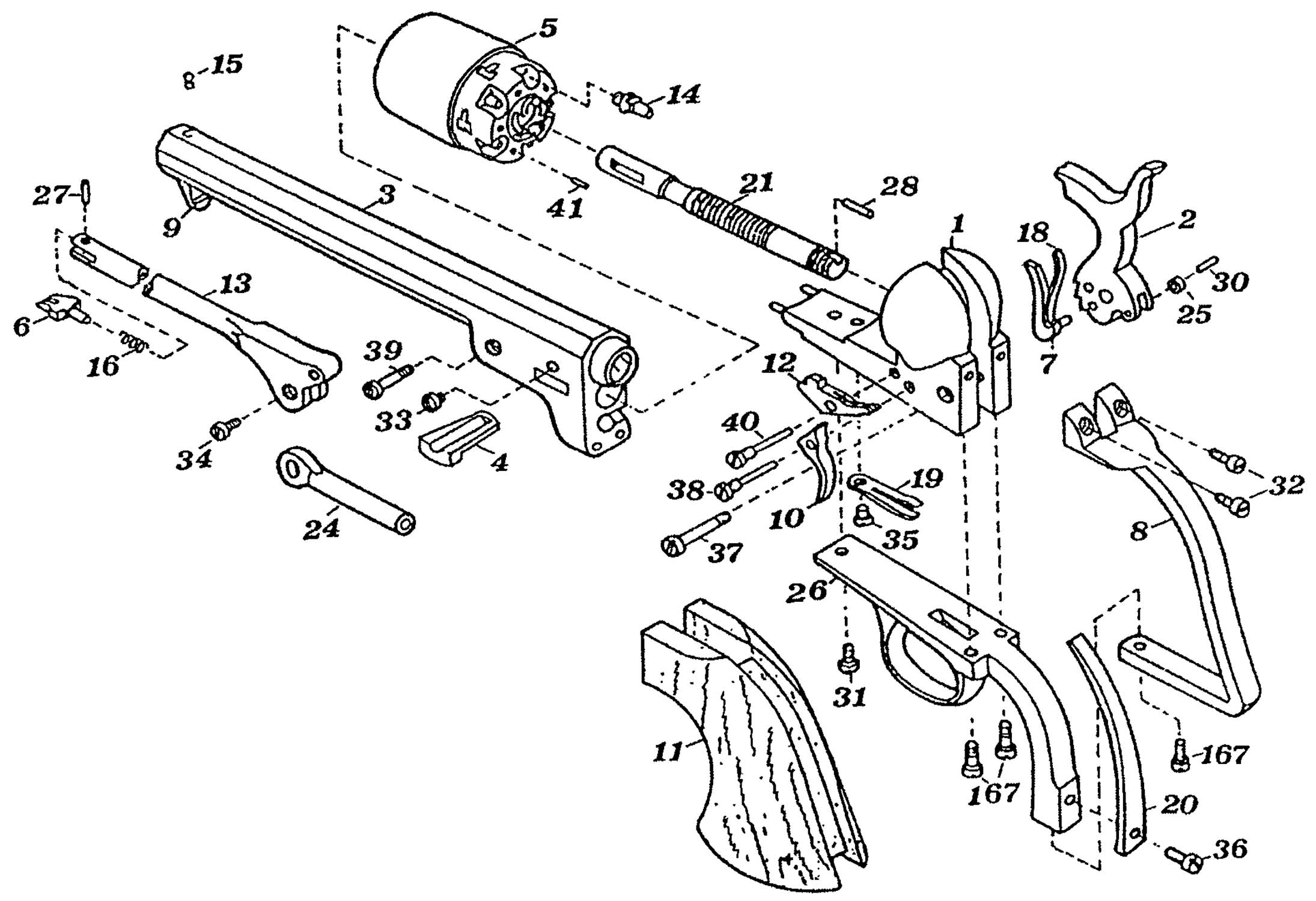 Revolver Schematic