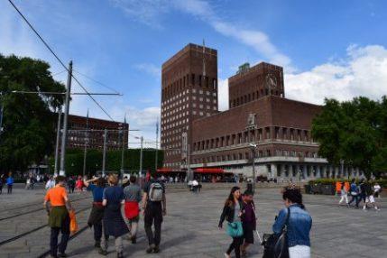 Oslo City Hall, Adam Dawson