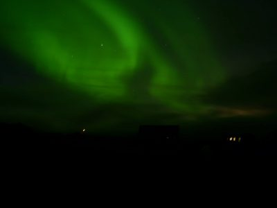 """""""Seymour! The house is on fire!"""" """"No, mother, it's just the Northern Lights."""" A Waldron"""