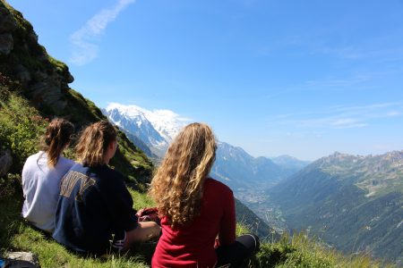Views for days of the valley towards Les Houches