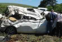 Photo of Over Seven Dead After Mini-Bus Rolls Down Embankment in KZN