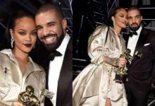 Photo of Rihanna Ignores Drake, During Instagram Live Chat