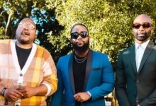 Photo of Fans React As Riky Rick , Stogie T, and Cassper Posed for Photos at Black Coffee's Party!