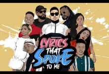 Photo of Graphic Designer, SbuCreative, Features AKA, Nasty C, A-Reece, Reason, And Others For His 'Lyrics That Spoke To Me' Series