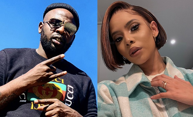 DJ Maphorisa Leaves Fans Guessing After Thuli Phongolo Grinds Him In New Video (Watch)