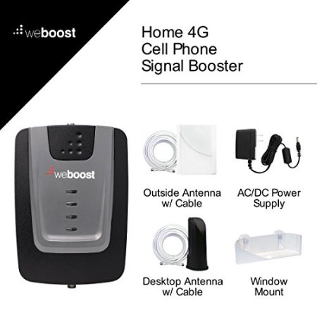 weBoost Home 4G Signal Booster Kit