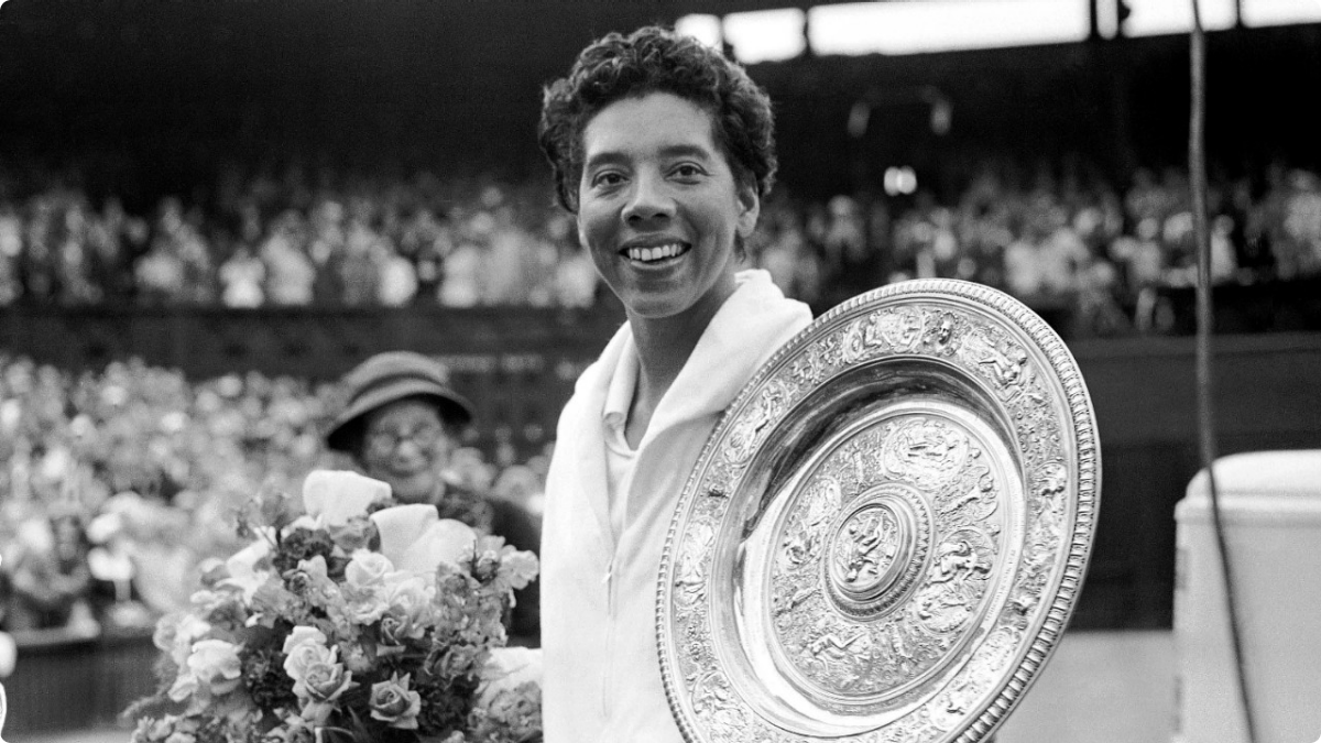 Image result for Althea Gibson photo