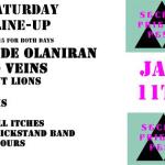 Secret Friends Fest / Silent Lions Compartments Release Show