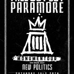 Concert Review: Monumentour Featuring New Politics, Paramore, and Fall Out Boy
