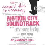 Concert Review: Team Spirit, Hawthorne Heights, and Motion City Soundtrack