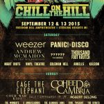 Chill on the Hill 2015 Part II: The Wombats, We Came As Romans, Andrew McMahon in the Wilderness, Panic! At The Disco, and Weezer
