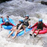 Bali Tubing & Bali Night Rafting Full Day