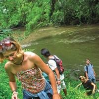 Bali Village Trekking & Bali Tubing Full Day