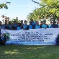 Outbound Dinas Pendidikan dan Kebudayaan Kabupaten Kutai Timur