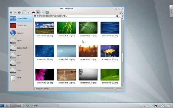 KDE 4.8 Plasma
