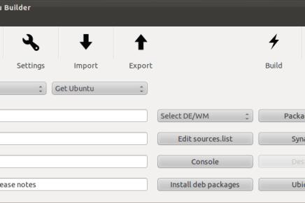 Crea tu propia distribución Linux con Ubuntu Builder