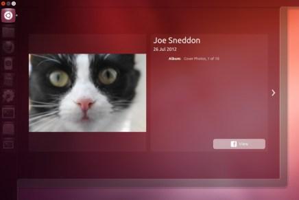 El nuevo lens de fotos de Unity para Ubuntu 12.10