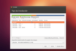 Particionar el disco duro para la instalación de Ubuntu