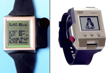 Estos eran los primeros smartwatches con Linux