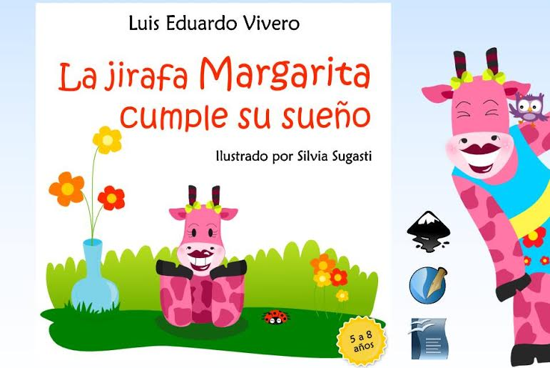 """unnamed """"La Jirafa Margarita cumple su sueño"""". Libro infantil creado por herramientas libres."""