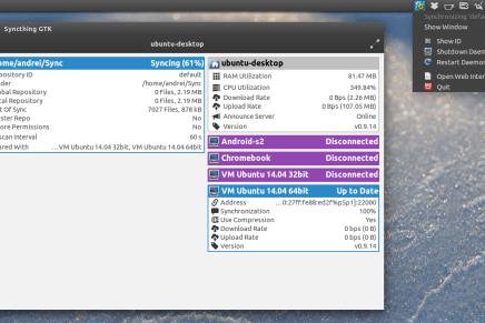 Syncthing la alternativa libre a Dropbox y Bittorrent Sync