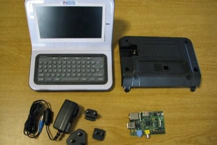 """PiKasa: Kit de conversión para tu Raspberry Pi en un """"portátil"""""""