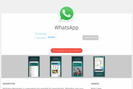 WhatsApp llega a Firefox OS