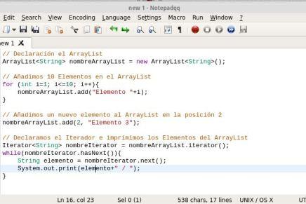 Notepadqq, el Notepad++ para Gnu/Linux