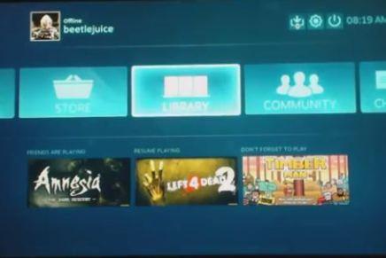 Steam ya puede ejecutarse en una PlayStation4