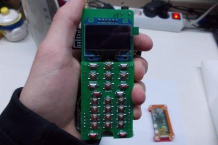 Zerophone, el primer teléfono móvil construido a partir de una Raspberry Pi