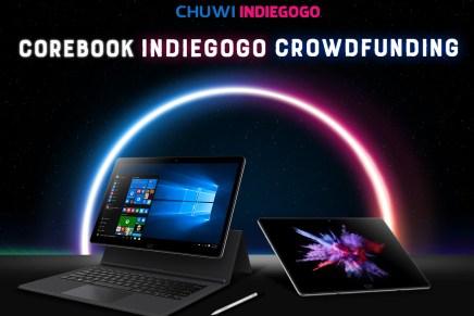 Corebook: El convertible de 13.3″ con un Intel Core m3 de CHUWI