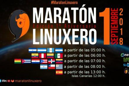 Celebra con nosotros el primer aniversario de Maratón Linuxero
