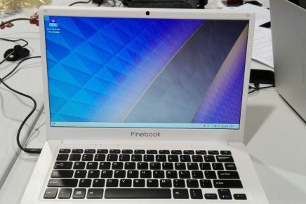 Ya es posible correr KDE Plasma en una ARM Laptop Pinebook