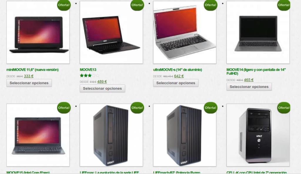 13ca5f12dc78 Los precios de los ordenadores VANT siempre son muy ajustados, sea cual sea  la configuración que busques. Con más o menos memoria, con cualquier disco  duro ...